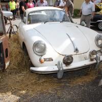 Oldtimertreffen Pinkafeld 2013 Porsche 356 Scheunenfund Stroh Heu