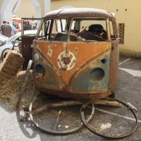 Oldtimertreffen Pinkafeld 2013 VW Bus T1 Bully