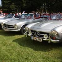 Oldtimertreffen Pinkafeld 2013 Mercedes-Benz Cabriolet