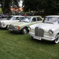 Oldtimertreffen Pinkafeld 2013 Mercedes-Benz Modelle