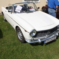 Oldtimertreffen Pinkafeld 2013 Fiat Cabrio