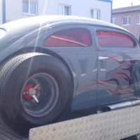 VW Käfer Hot Rod Airbrush