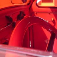 VW Käfer Volksrodder Innenraum rot