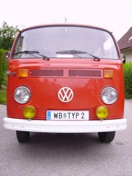 VW Bus T2b Typ2 Wunschkennzeichen