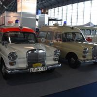 IAA Frankfurt Mercedes-Benz Rettungswagen Krankenwagen