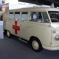 IAA Frankfurt Volkswagen Klassiker VW Bus T1 Rettungswagen Krankenwagen