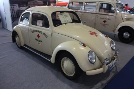 IAA Frankfurt VW Klassiker Rettungswagen Käfer