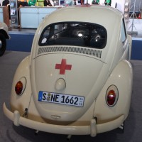 IAA Frankfurt Volkswagen Klassiker VW Käfer Rettung Rettungswagen Krankenwagen