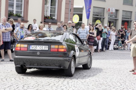 Volkswagen Classic bei der Creme21-Youngtimer Rallye VW Corrado