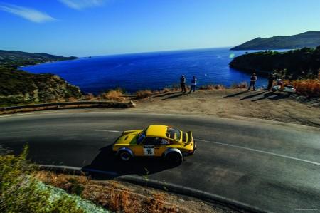 Porsche 911 gewinnt FIA Historic European Rallye Championship