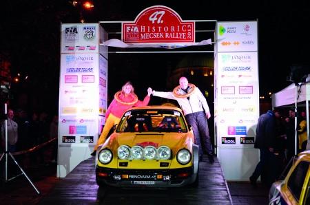 Porsche 911 Motorsport FIA Historic Rallye