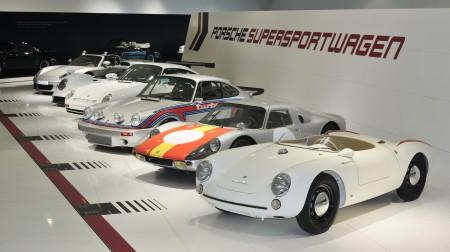 60 Jahre Supersportwagen im Porsche Museum