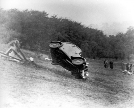 Vor 75 Jahren startete die Crashtest-Ära bei Audi