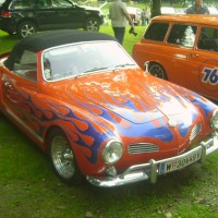 VW Karmann Ghia French Style Look