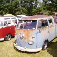VW Bus T1 Doka Rat Look Style Ratte