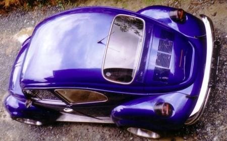VW Käfer blau Tuning