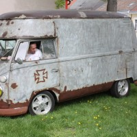 VW Bus T1 Hochdach Rat Look Style Ratte