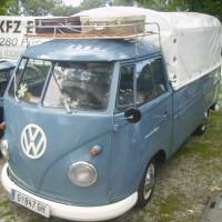 VW Bus T1 Pritsche Plane