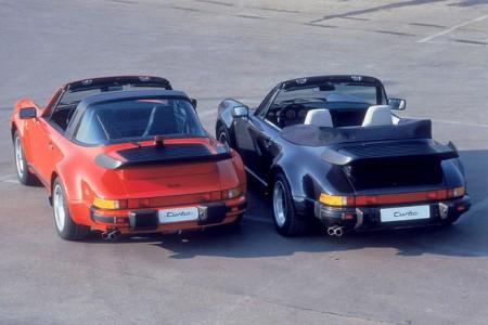 Porsche 911 Targa und Porsche 911 Cabriolet Turbo