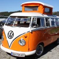 VW Bus T1 Camping Aufbau