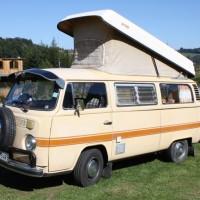 VW Bus T2b Camping