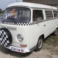 VW Bus T2 Camping