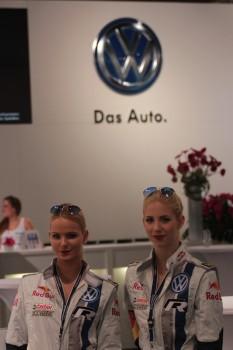 Vienna Autoshow 2014 Volkswagen VW Das Auto Damen Girls Frauen