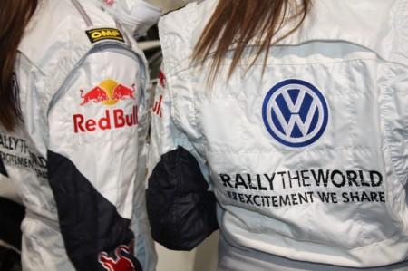 Vienna Autoshow 2014 Volkswagen VW Rally the World Red Bull