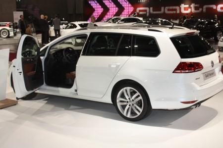 Vienna Autoshow 2014 Volkswagen Golf Variant