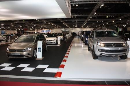 Vienna Autoshow 2014 Volkswagen Golf Sportsvan