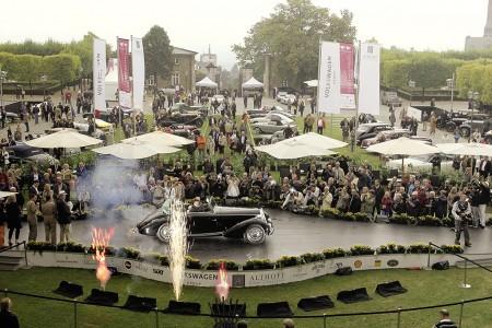 Hochkaraetige Boliden bei der 6 Schloss Bensberg Classics