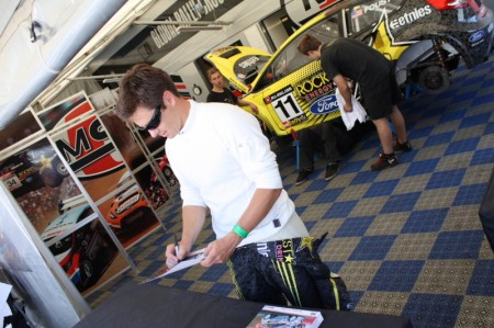 Rallycross Tanner Foust PS Racing Center Greinbach