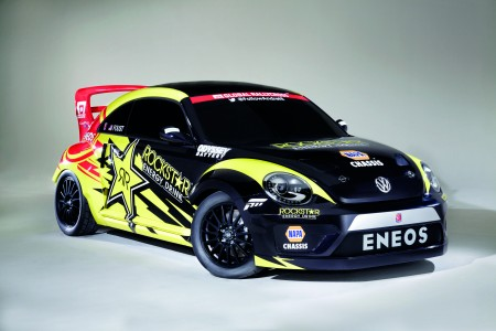 GRC Beetle des Volkswagen Andretti Rallycross Teams USA 560PS Front