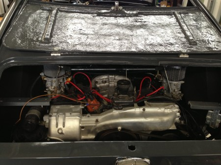 Fieberfab Bonanza GT Motor Heck Klappe Porsche 914 Motor