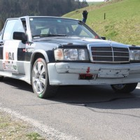 Rebenland Rallye 2014 Mercedes-Benz 190 2,3 Roman Pumper SP9