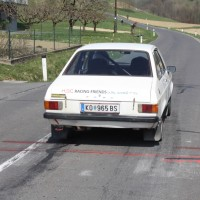 Rebenland Rallye 2014 Ford Escort 1600 Hans Wieger SP9