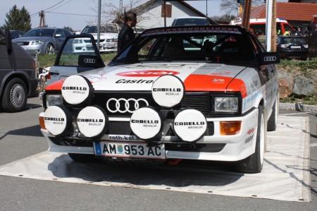 Rebenland Rallye 2014 Audi Quattro Service