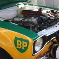 Rebenland Rallye 2014 Ford Escort Service