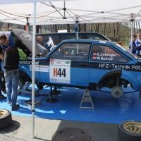 Rebenland Rallye 2014 Ford Escort RS 2000 Gernot Zeiringer Service