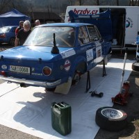 Rebenland Rallye 2014 BMW 2002 ti Ales Jiratko Service