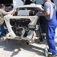 Rebenland Rallye 2014 Lancia Stratos Burghard Brink Service
