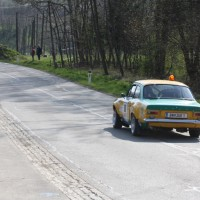Rebenland Rallye 2014 Ford Escort Vorausauto Safety Car SP 11
