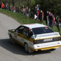 Lavanttal Rallye 2014 Audi quattro Horst Stürmer SP 5