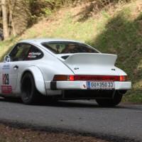 Lavanttal Rallye 2014 Kris Rosenberger Porsche 911 SP 8