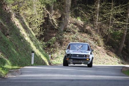 Lavanttal Rallye 2014 Ford Escort RS 2000 MK2 Unfall Crash Schaden Gerhard Openauer SP 8