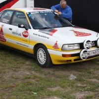 Lavanttal Rallye 2014 Audi quattro Service