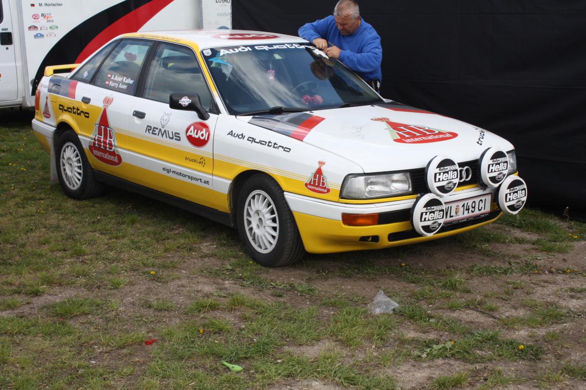 Lavanttal Rallye 2014 Historische Rallye Autos Service Bereich Fotos