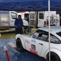 Lavanttal Rallye 2014 Porsche 911 Kris Rosenberger Service