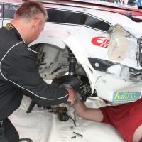 Lavanttal Rallye 2014 Ford Escort RS 2000 Mk 2 Gerhard Openauer Wolfgang Scheitz Unfall Crash Schaden Blech Service