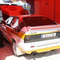 Lavanttal Rallye 2014 Audi Quattro Coupe Service Horst Stürmer